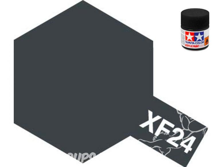 peinture maquette tamiya xf24 gris foncé mat