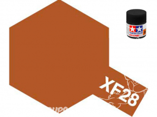 peinture maquette tamiya xf28 XL cuivre foncé mat 23ml