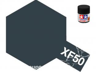 peinture maquette tamiya xf50 XL bleu field mat 23ml