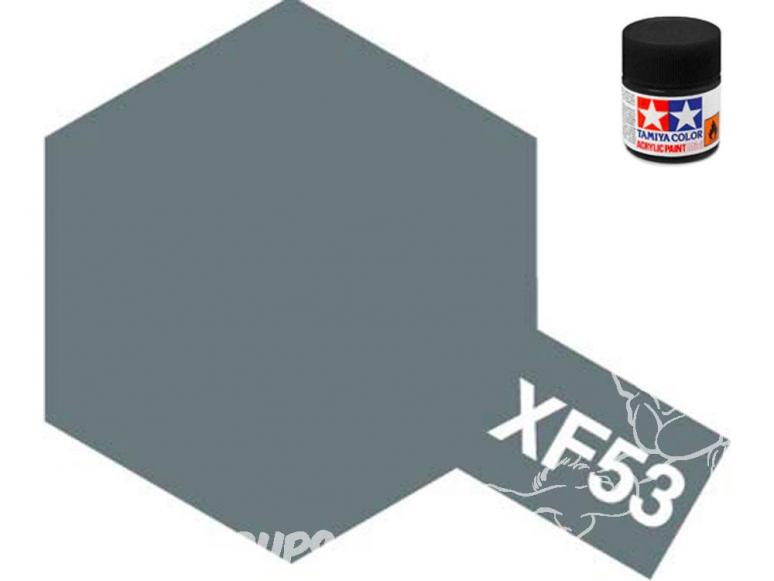 Peinture maquette tamiya xf53 XL gris neutre mat 23ml