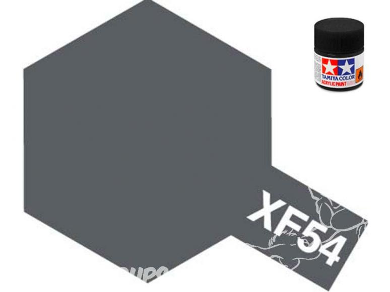 peinture maquette tamiya xf54 gris mer foncé mat