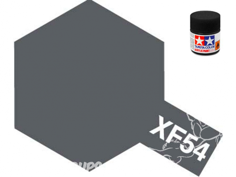 peinture maquette tamiya xf54 XL gris mer fonce mat 23ml