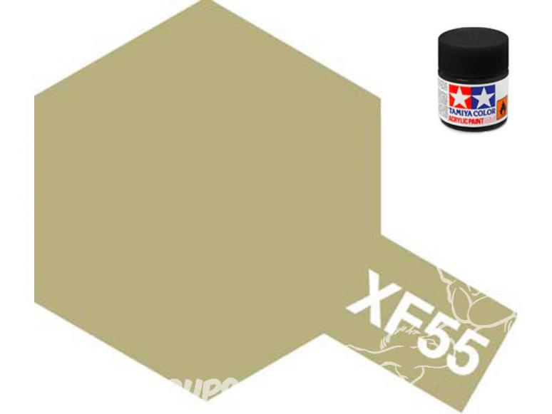 peinture maquette tamiya xf55 XL havane mat 23ml