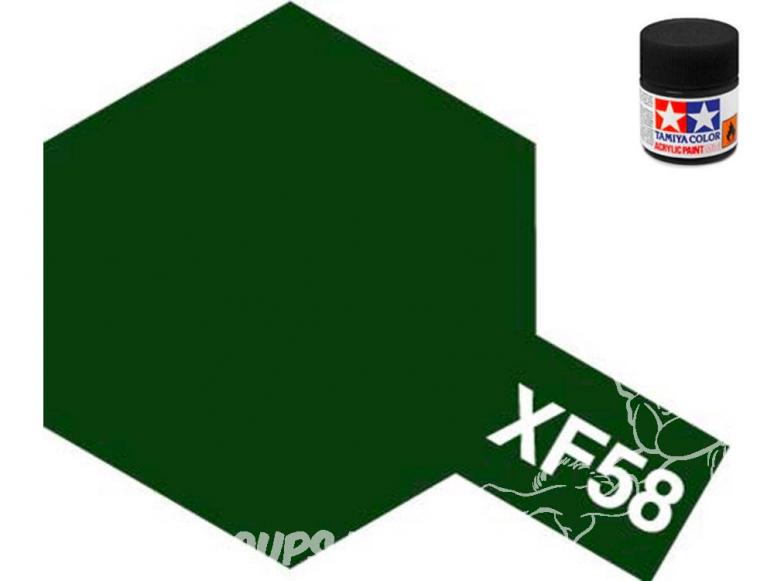 peinture maquette tamiya xf58 vert olive mat