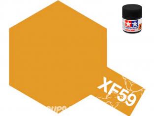 peinture maquette tamiya xf59 jaune desert mat 10ml