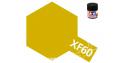 peinture maquette tamiya xf60 XL jaune foncé mat 23ml