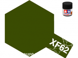 peinture maquette tamiya xf62 olive drab mat 10ml
