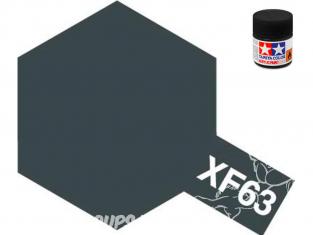 peinture maquette tamiya xf63 XL gris allemand mat 23ml