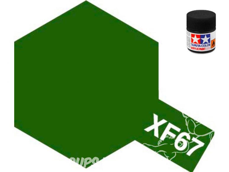 Peinture maquette tamiya xf67 XL vert otan 23ml