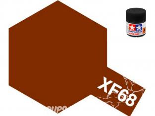 peinture maquette tamiya xf68 brun otan 10ml