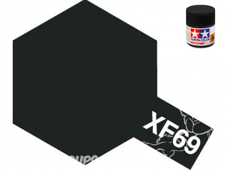 peinture maquette tamiya xf69 noir otan