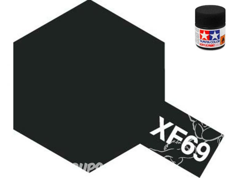 peinture maquette tamiya xf69 XL noir otan 23ml