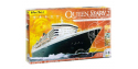 HELLER maquette militaire 52902 coffret complet Queen Mary 2 1/600