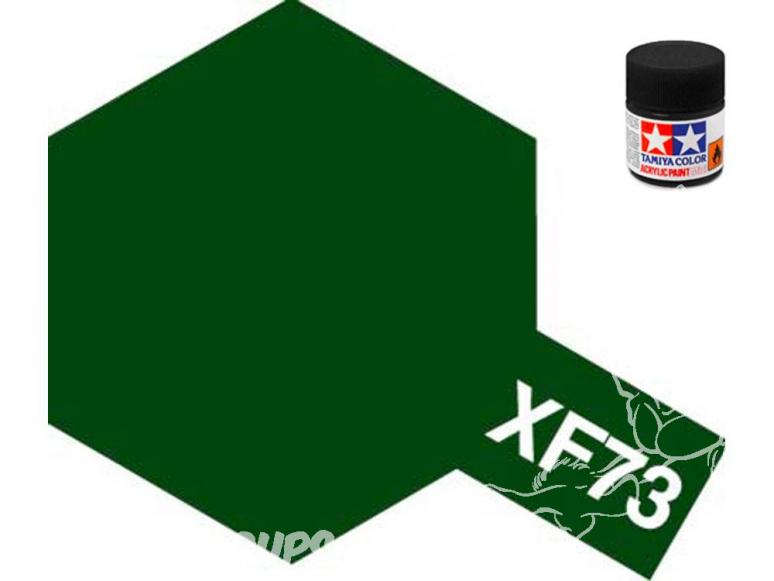 peinture maquette tamiya xf73 vert foncé