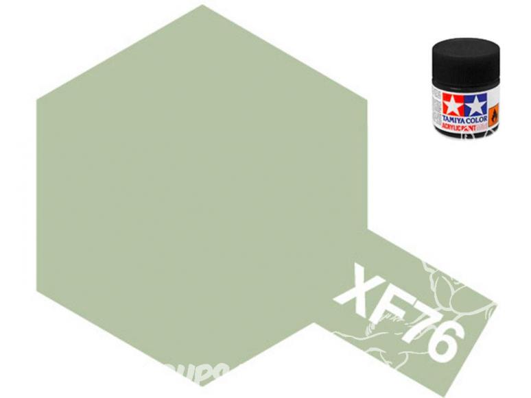 peinture maquette tamiya xf76 gris vert