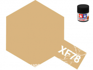 peinture maquette tamiya xf78 Bois deck Tan