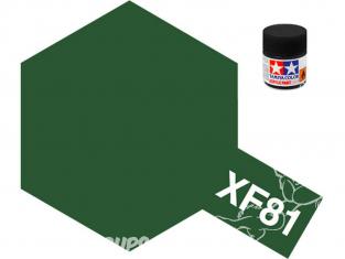 peinture maquette tamiya xf81 Dark Green 2 RAF 10ml