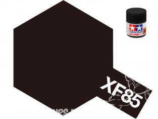 peinture maquette tamiya xf85 noir caoutchou pneus 10ml