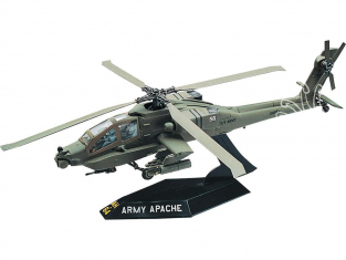 Revell US maquette avion 1183 AH-64 APACHE HELICOPTER easy snap 1/72