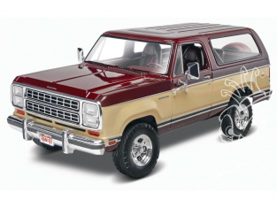Revell US maquette voiture 4372 1980 Dodge® Ramcharger 1/25