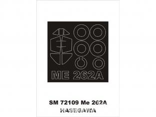 Montex Mini Mask SM72109 Messerschmitt Me 262A Hasegawa 1/72
