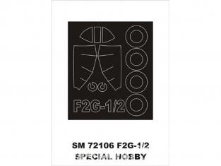 Montex Mini Mask SM72106 F2G-1/2 Corsair Special Hobby 1/72