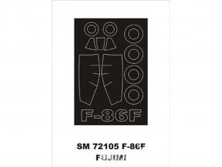 Montex Mini Mask SM72105 F-86F Fujimi 1/72