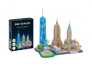 Revell pulzze 3D 00142 New York Skyline