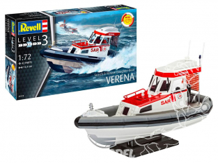 revell maquette bateau 65228 Model Set Search et Rescue Daughter-Boat VERENA 1/72