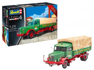 Revell maquette camion 07555 Büssing 8000 S13 edition limitée 1/24