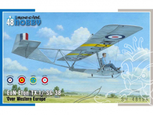 Special Hobby maquette avion 48198 EoN Eton TX.1 / SG-38 en Europe occidentale 1/48