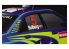 HASEGAWA TF6 PLAQUE FINITION Adhésive Orange fluorescent 90x200mm