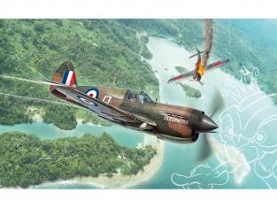 Italeri maquette avion 2795 P-40 E/K Kittyhawk 1/48