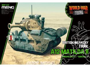 Meng maquette militaire WWT-014 C'est pas rapide, mais c'est mignon British Infantry Tank A12 Matilda II