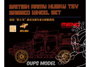 Meng maquette voiture SPS-064 Votre Husky a besoin d'eux 1/35