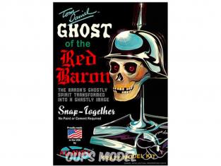 Atlantic maquette Figurine M220 Le fantôme du baron rouge Tom Daniel 1/3