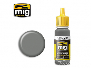 MIG peinture authentique 254 RLM75 Grauviolett - Gris violet 17ml