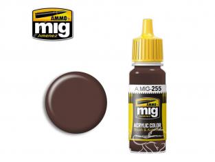 MIG peinture authentique 255 RLM81 Braunviolett - Brun violet 17ml