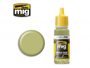 MIG peinture authentique 256 RLM84 Graublau - Gris bleu 17ml