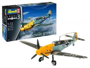 Revell maquette avion 63893 model Set Messerschmitt Bf109 F-2 1/72