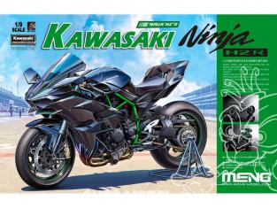 MENG MT-01S Nouveaux choix du ninja ultime pre peinte 1/9