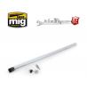 MIG pièce aérographe 8667 Kit de remplacement Aiguille / Buse 0,2