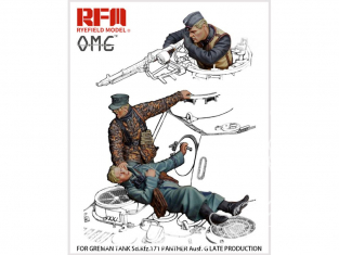 Rye Field Model maquette militaire OM-35001 Figurines pour Panther Ausf.G Fin de production Sd.Kfz.171 1/35