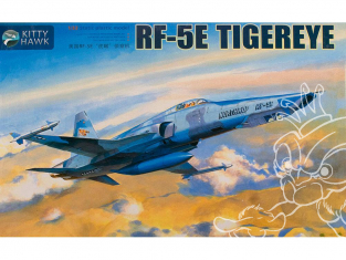 "Kitty Hawk maquette avion KH32023 NORTHROP RF-5E ""TIGER EYE"" 1992 1/32"