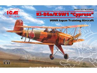 """Icm maquette avion 32032 Ki-86a/K9W1 """"Cypress"""" Avion d'entraînement japonais WWII 1/32"""