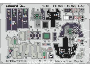 EDUARD photodecoupe avion 49976 Amélioration L-59 Trumpeter 1/48
