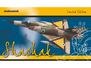 EDUARD maquette avion 11128 Shachak Mirage IIIC en Service Israélien Edition Limitee 1/48