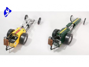 LINDBERG maquette voiture 73048 Exterminator Dragster 1/8