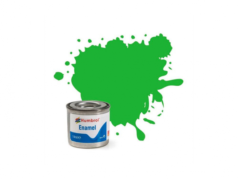 HUMBROL Peinture enamel 037 Vert Clair mat