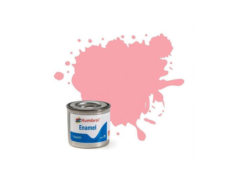 HUMBROL Peinture enamel 057 Rose pastel mat